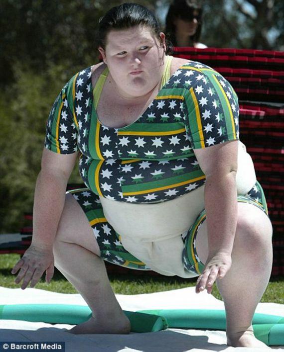 Sumo Female Wrestling